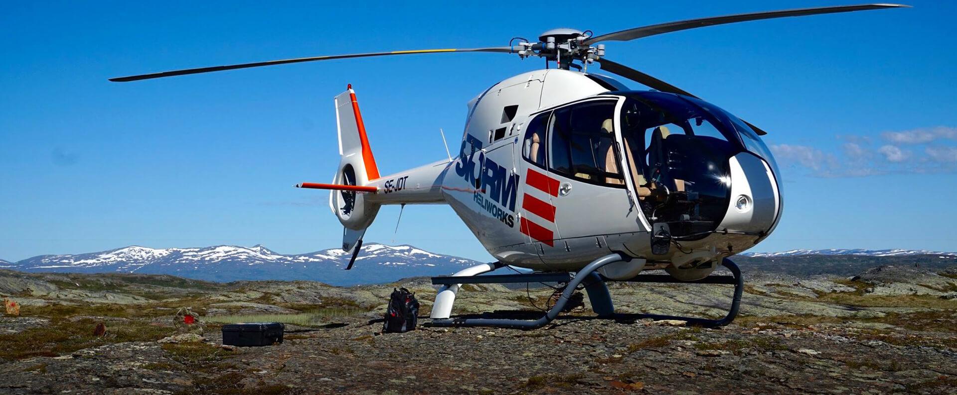 Helikopter - Fordonsdekor